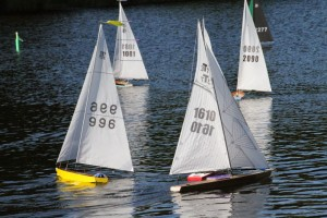T37s sailing downwind